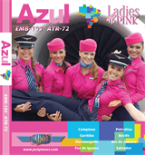 "Azul Airlines ""Ladies in Pink"""