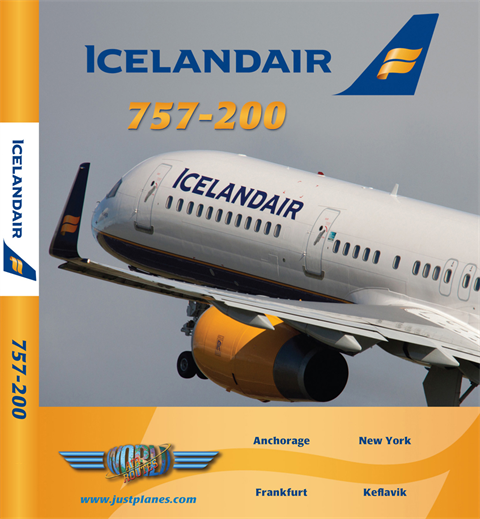 Icelandair 757-200 JFK/ANC (DVD)