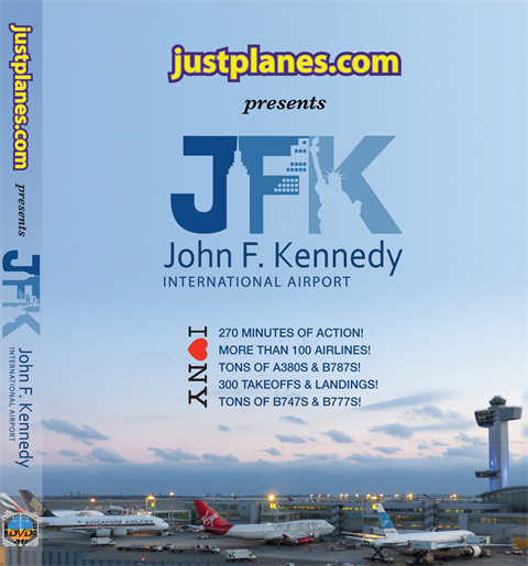 WORLD AIRPORT : New York JFK 2014 (DVD)