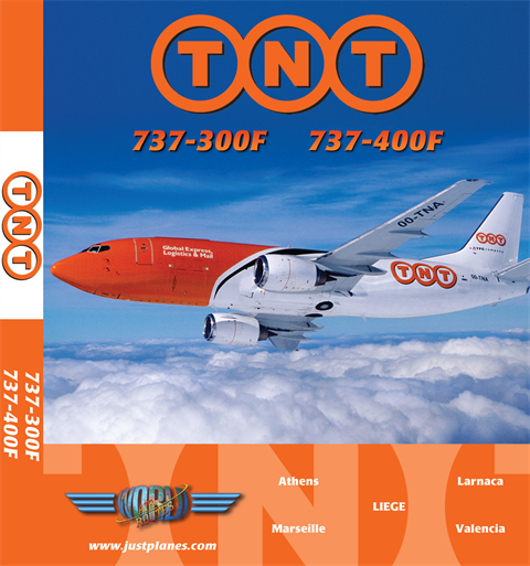 TNT Airways 737-300F (DVD)