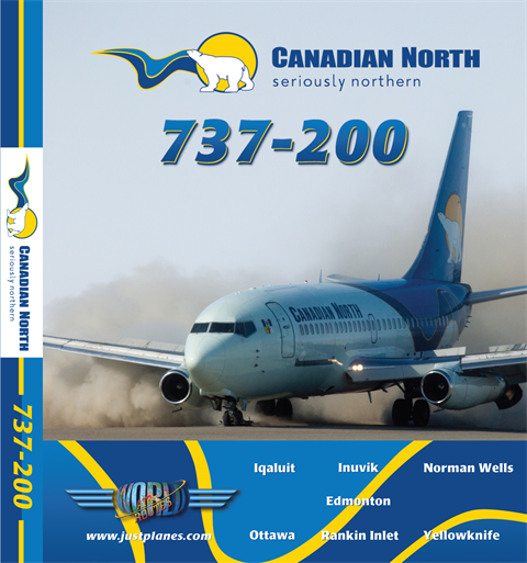 Canadian North 737-200 (DVD)