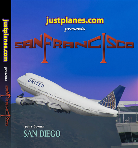 WORLD AIRPORT : San Francisco & San Diego (DVD)