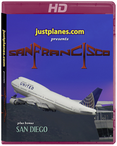 WORLD AIRPORT : San Francisco & San Diego