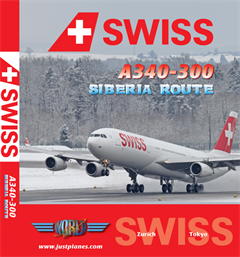 "Swiss A340 ""Siberia Route"" (DVD)"
