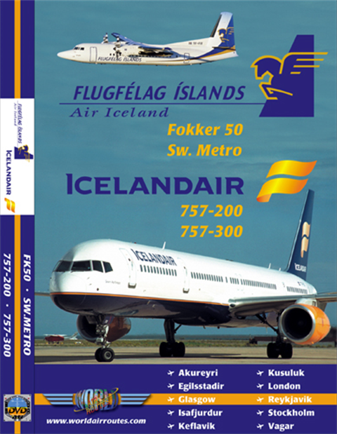WAR : Icelandair 757-300 + Air Iceland