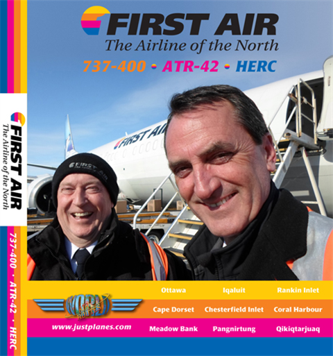 First Air 737, ATR & C-130 (DVD)