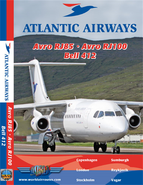 WAR : Atlantic Airways Avro RJ & Bell 412