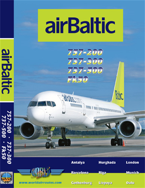 WAR : Air Baltic 737 & 757