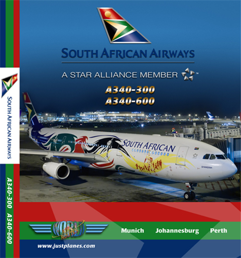 South African A340-300/600 (DVD)