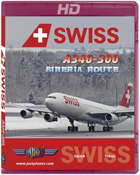 "Swiss A340 ""Siberia Route"""