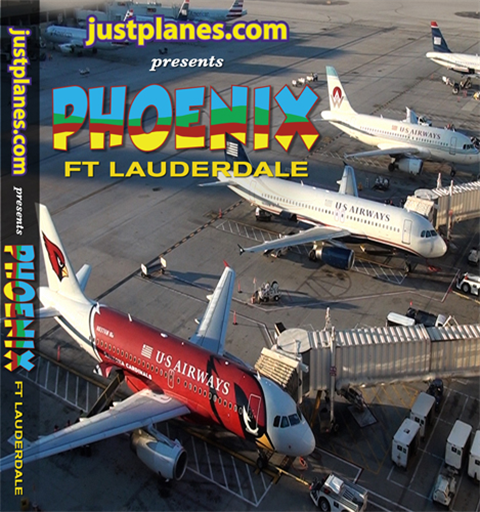 WORLD AIRPORT : Ft Lauderdale & Phoenix (DVD)