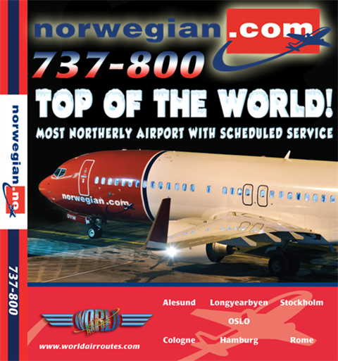 "Norwegian 737-800 ""Top of the World"" (DVD)"