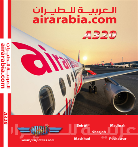 Air Arabia A320 (DVD)