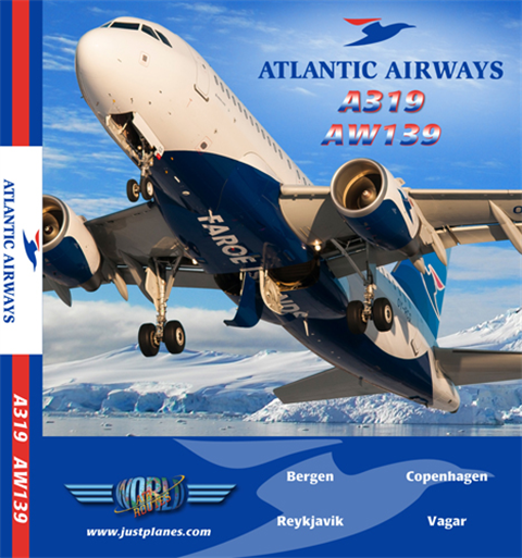 Atlantic Airways A319 & Heli (DVD)