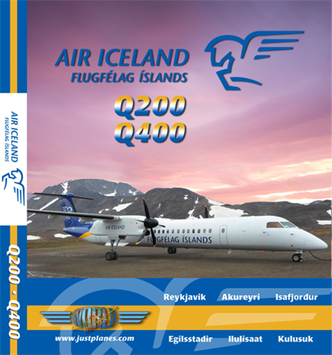 Air Iceland Dash 8 (DVD)