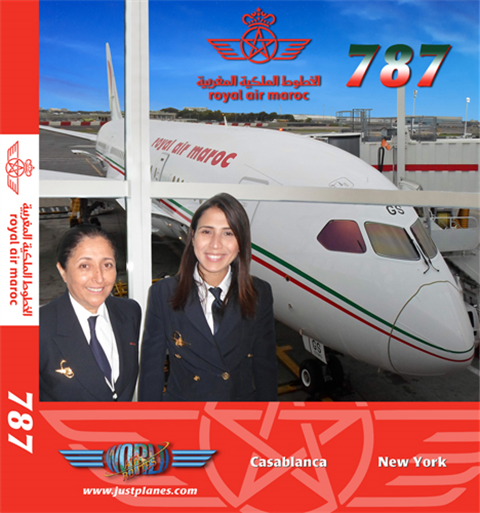 Royal Air Maroc 787 (DVD)