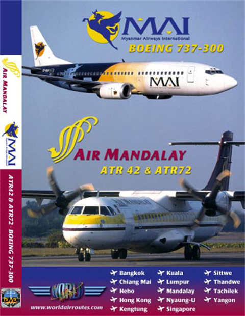 WAR : Air Mandalay + Myanmar Airways