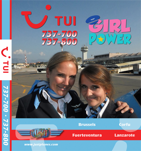 "TUI Belgium 737 ""Girl Power"" (DVD)"