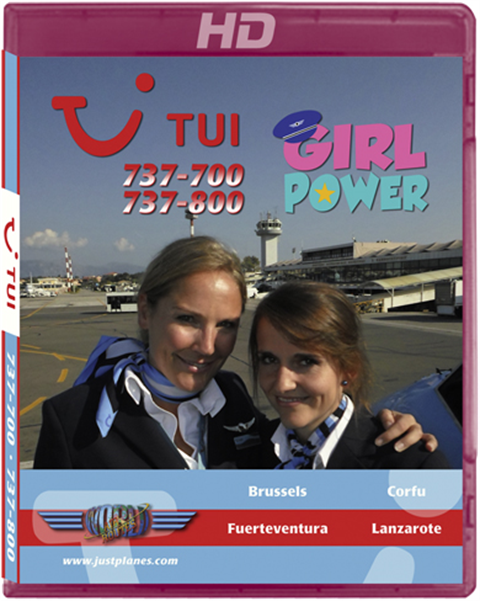 "TUI Belgium 737 ""Girl Power"""