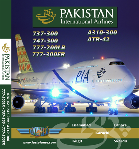 Pakistan Int'l 737, 747, 777 (DVD)