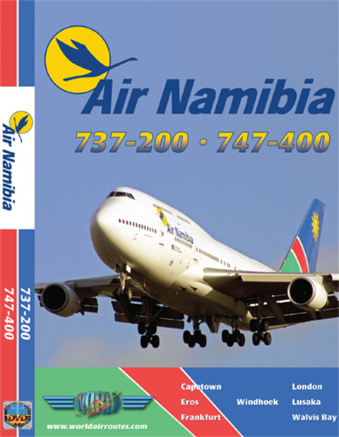 WAR : Air Namibia 747-400 & 737-200