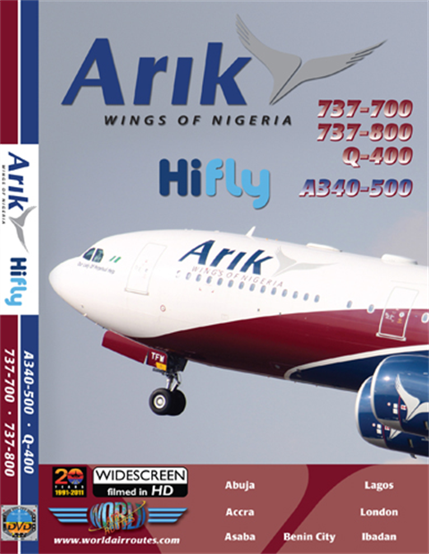 Arik Air A340-500 & 737 (DVD)
