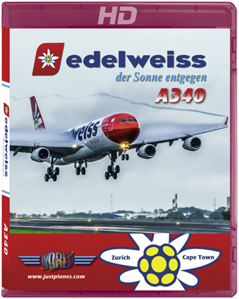 Edelweiss A340 Cape Town