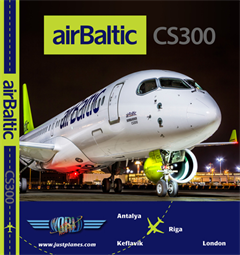 Air Baltic CS300 (DVD)