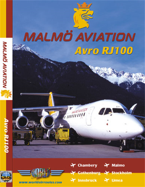WAR : Malmo Aviation Avro RJ100
