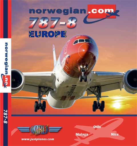 "Norwegian 787 ""Europe"" (DVD)"