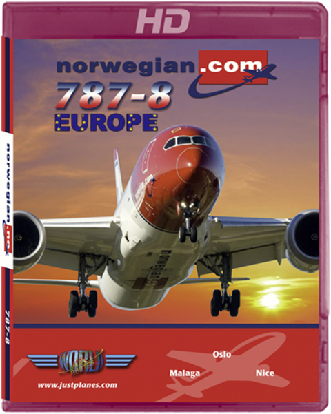 "Norwegian 787 ""Europe"""