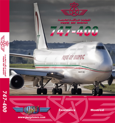 Royal Air Maroc 747-400 (DVD)