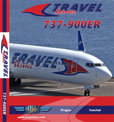 Travel Service 737-900ER (DVD)