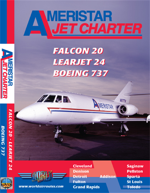 WAR : Ameristar Falcon 20, Learjet & 737-200