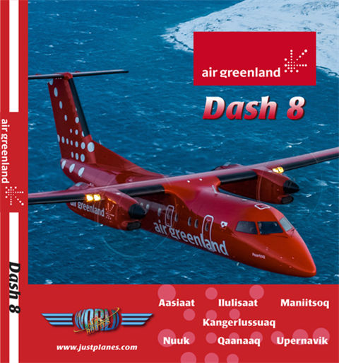 Air Greenland Dash 8 (DVD)