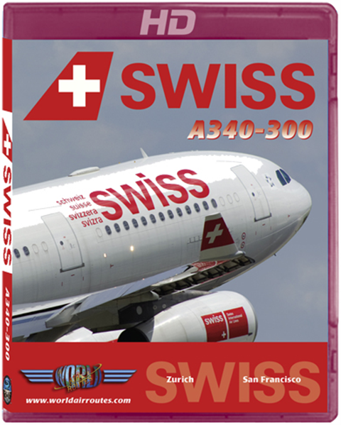 "Swiss A340 ""San Francisco"""