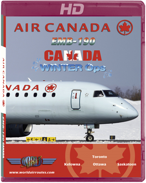 Air Canada E-190 Winter Ops