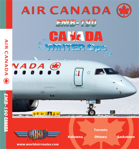Air Canada E-190 Winter Ops (DVD)