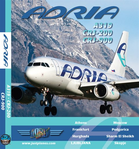 Adria Airways A319, CRJ-200 & CRJ-900