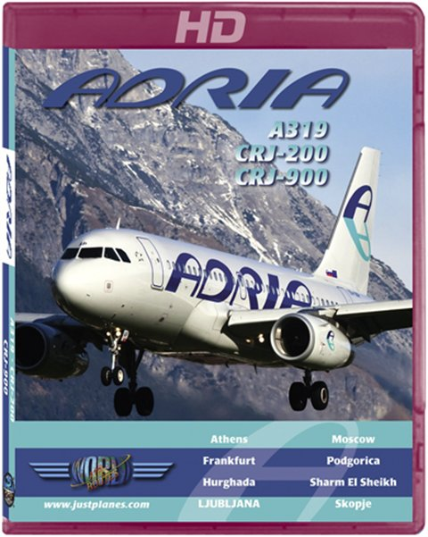 Adria Airways A319, CRJ-200/900