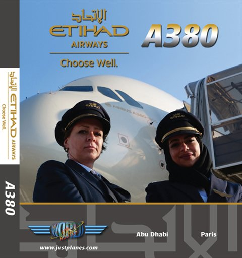 1 Etihad Airways A380 (DVD)