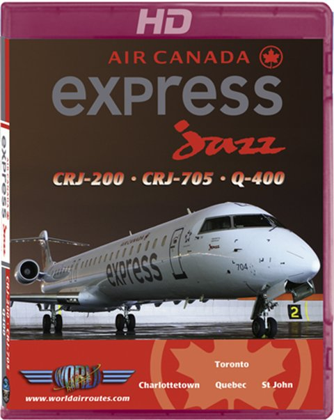 Air Canada Express by Jazz CRJ-705 & Q-400