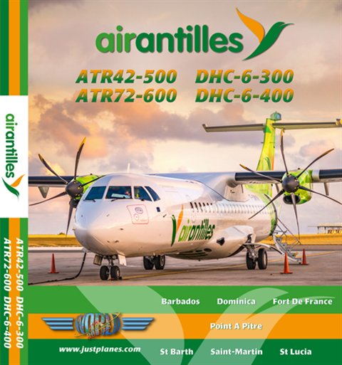 Air Antilles ATR42/72 & Twin Otter (DVD)