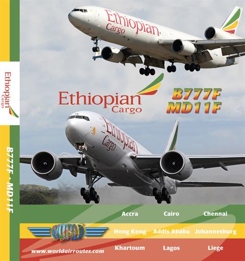 Ethiopian Cargo 777 MD11 DVD