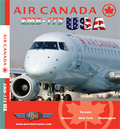 Air Canada EMB-175 USA (DVD)