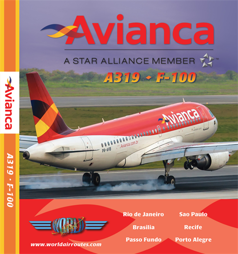 Avianca A319 & Fk100 (DVD)