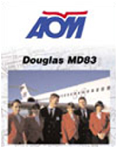 WAR CLASSICS : AOM Airlines MD83