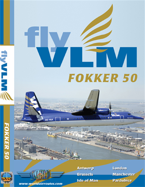 WAR : VLM Airlines Fokker 50