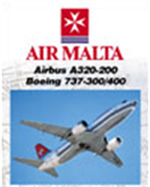 WAR : Air Malta A320 & 737-300/400