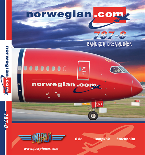 Norwegian 787 to Bangkok (DVD)